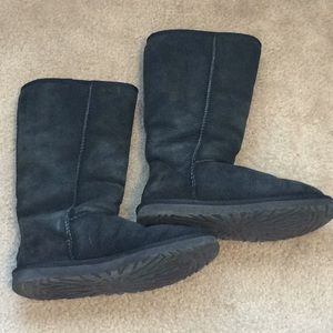 Authentic Black Ugg Tall Boots